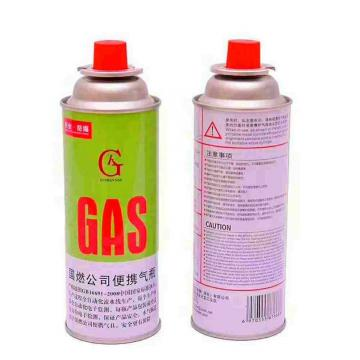 Portable gas stove for barbecue Butane gas canister in gas cylinder