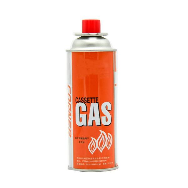 Fuel Energy Empty Tinplate Safety Powerful Butane Gas Canister 220G lighter gas refill